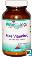 Pure Vitamin C, Powder, Nutricology, 4.2 oz (120 g)