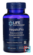 Hepatopro, 900 mg, Life Extension, 60 Softgels