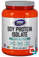 Soy Protein Isolate, Now Foods, 907 g