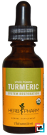 Whole Rhizome, Turmeric, Herb Pharm, 1 fl oz (30 ml)