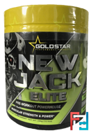 NEW JACK elite  EPHEDRA + DMAA, Gold Star, 295 g