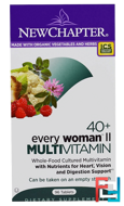 40+ Every Woman II, Multivitamin, New Chapter, 96 Tablets