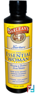 The Essential Woman, Nurture, Barlean's, 12 fl oz, 350 ml
