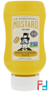 Yellow Mustard, Sir Kensington's, 9 oz (255 g)