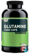 Glutamine Caps, Optimum Nutrition, 240 Capsules