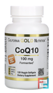 CoQ10, CGN, California Gold Nutrition, 100 mg, 120 Veggie Softgels