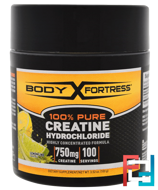 100% Pure Creatine HCL, Body Fortress, 100 g