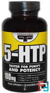 Discontinued - 5-HTP, Primaforce, 100 mg, 120 Veggie capsules