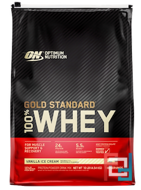 100% Whey Gold Standard, Optimum Nutrition, 10 lb, 4540 g