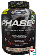 Phase8, Multi-Phase 8-Hour Protein, Performance Series, Muscletech, 2090 g