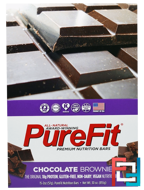 Premium Nutrition Bars, Chocolate Brownie, Pure Fit Bars, 15 Bars, 2 oz (57 g) Each