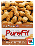 Premium Nutrition Bars, Peanut Butter Crunch, Pure Fit Bars, 15 Bars, 2 oz (57 g) Each