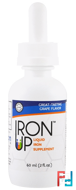 Iron Up, Liquid Iron Supplement, Grape Flavor, 2 fl oz, A.C. Grace Company, 60 ml