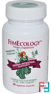 FemEcology, Vaginal/Intestinal Support, Vitanica, 30 Veggie Caps