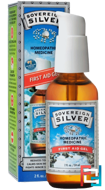 Silver, First Aid Gel, Sovereign Silver, 2 fl oz (59 ml)