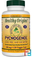 Pycnogenol, Healthy Origins, 100 mg, 120 Veggie Caps