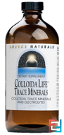 Source Naturals, Colloida Life Trace Minerals, 4 fl. oz. (118.28 ml)