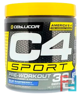 C4 Sport, Pre-Workout, Cellucor, 9.5 oz, 270 g