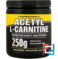 Acetyl-L-Carnitine, Unflavored, Primaforce, 250 g - снят с продажи