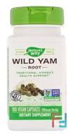 Wild Yam Root, Nature's Way, 445 mg, 100 Vegan Capsules