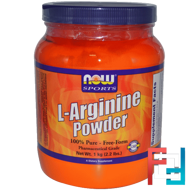 L-Arginine Powder, Now Foods, 1000 g