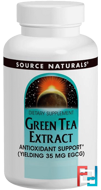 Green Tea Extract, Source Naturals, 60 Tablets