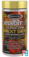 Hydroxycut Hardcore Next Gen Non-Stimulant, Hydroxycut, Performance Series, 150 Capsules