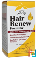 Hair Renew Formula, EuroPharma, Terry Naturally, 60 Softgels