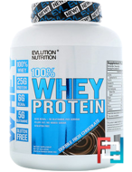 100% Whey Protein, EVLution Nutrition, 4 lb, 1814 g
