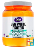 Eggwhite Protein, Now Foods, 1.2 lbs, 544 g