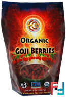 Raw & Organic Goji Berries, Earth Circle Organics, 8 oz, 227 g