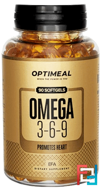 Omega 3-6-9, OptiMeal, 90 softgels