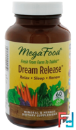 Dream Release, MegaFood, 30 Tablets
