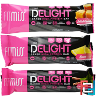 Delight Baked High Protein Bar, FitMiss, 1 bar * 50 g