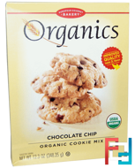 Organic Cookie Mix, Chocolate Chip, European Gourmet Bakery, 12.3 oz (348.35 g)