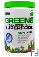 Lean Body Foods, Greens Full-Spectrum Superfood, Labrada Nutrition, 210 g