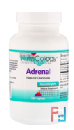 Adrenal, Natural Glandular, Nutricology, 150 Vegi Caps
