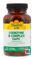 Coenzyme B-Complex Caps, Country Life, 120 Vegetarian Capsules