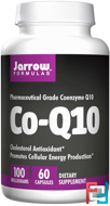 Co-Q10, Jarrow Formulas, 100 mg, 60 Capsules