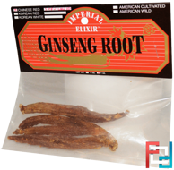 Ginseng Root, Chinese Red Shiu Chu Xu, Imperial Elixir, 1 oz