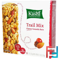 Chewy Granola Bars, Trail Mix, Kashi, 6 Bars, 1.2 oz (35g)