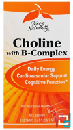 Terry Naturally, Choline with B-Complex, EuroPharma, 60 Capsules