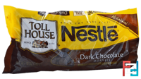Dark Chocolate Morsels, Nestle Toll House, 10 oz (283 g)