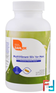 Multivibrant 50+ for Men, Advanced Multivitamin Combination, Zahler, 60 Capsules
