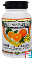 Dr. Linus Pauling, Vitamin C, 1,000 mg, Irwin Naturals, 90 Tablets
