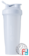 BlenderBottle, Classic With Loop, White, Sundesa, 32 oz