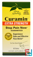 Terry Naturally, Curamin, Extra Strength, EuroPharma, 60 Tablets