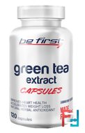 Green tea extract capsules, Be First, 120 capsules