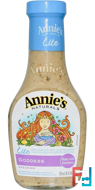 Lite, Goddess Dressing, Annie's Naturals, 8 fl oz (236 ml)