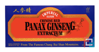 Chinese Red Panax Ginseng Extractum, Imperial Elixir, 10 Bottles, 0.34 fl oz, 10 ml
